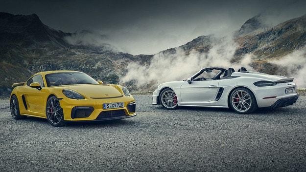Porsche Cayman и Boxster с роботизирана трансмисия