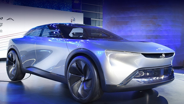 Buick Electra представя за марката техника Ultium