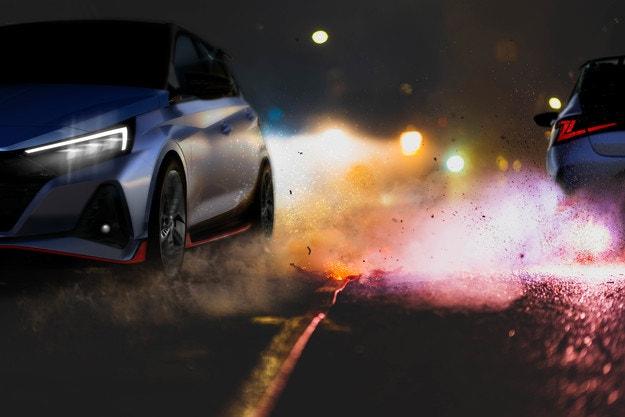 Hyundai показа първия тийзър на новия i20 N