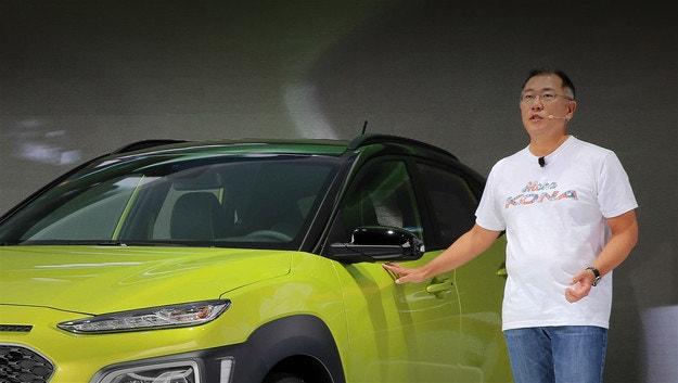 Новият шеф на Hyundai Motor Group е Чон Ъйсон