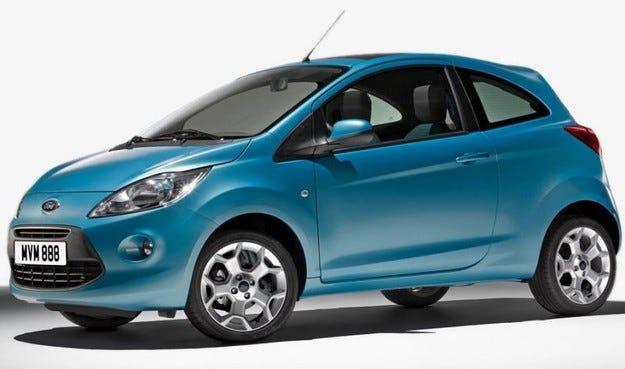 2009 Ford Ka: Побратими