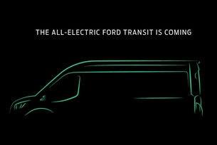 Шефът на Ford обяви напълно електрически Transit