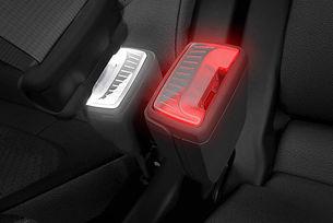 Skoda патентова LED закопчалка за предпазния колан