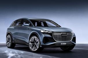 Разкриха две версии на Audi Q4 e-tron