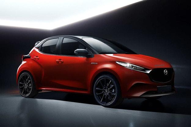 Mazda ще пусне собствена версия на Toyota Yaris