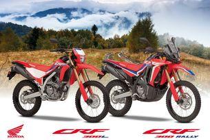 Honda CRF300 и CRF300 RALLY за всички пътища