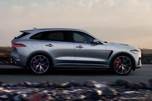 Новият Jaguar F-PACE SVR е още по-луксозен