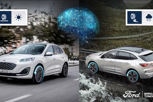 Новият Ford Kuga Hybrid с умна технология
