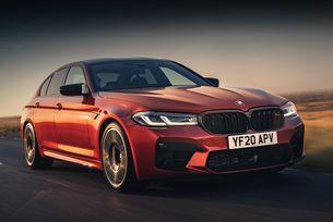 Шефът на BMW M разкри седана BMW M5 CS