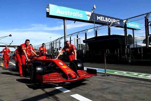 Отлагат Гран при на Австралия