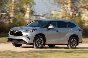 Toyota патентова името Grand Highlander
