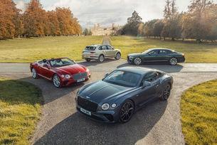 Bentley подобри рекорда по продажби през 2020 г.