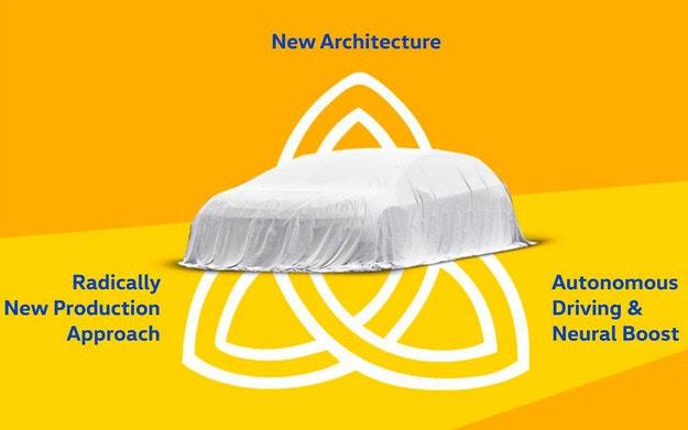 Volkswagen разкрива автомобила Trinity