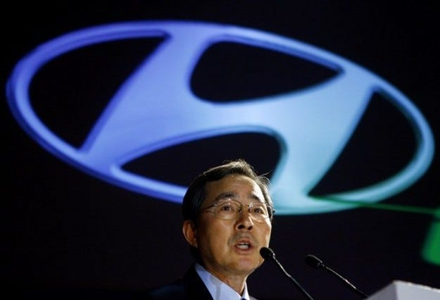 Hyundai планира да удвои пазарния си дял до 2010