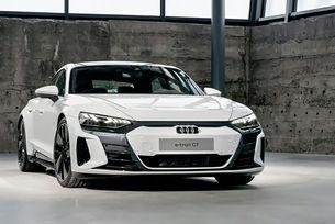 Разсекретиха електрическия Audi e-tron GT