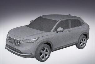 Разкриха новия Honda HR-V с патентни скици