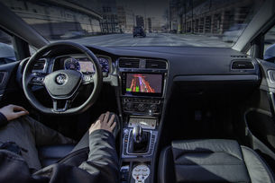 VW и Microsoft работят върху автономно шофиране