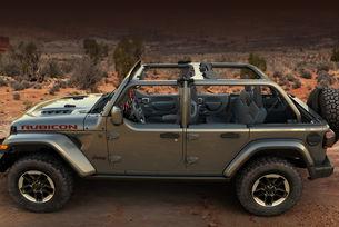 Jeep Wrangler получава комплект с двойни врати