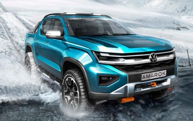 Volkswagen разкри дизайна на новия Amarok