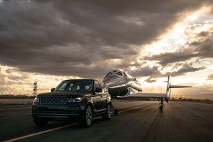Virgin Galactic и Land Rover разширяват партньорството