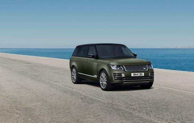 Land Rover с ексклузивно оборудване