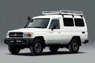 Toyota Land Cruiser с хладилник за ваксини