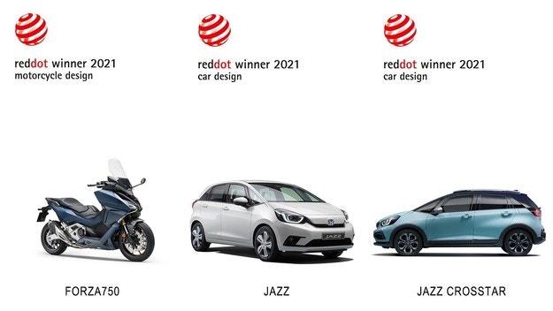 Honda се окичи с три престижни награди Red Dot