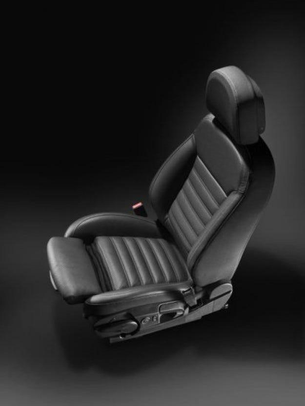 Insignia получи клеймо за одобрение на своите ергономични седалки