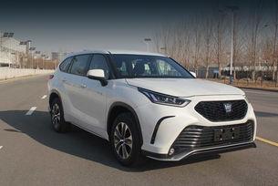 Toyota Crown Kluger дебютира след дни