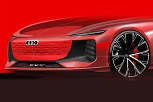 Нов концепт на Audi представя E-tron седан