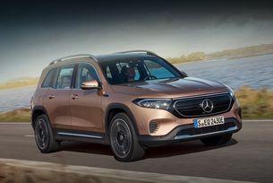 Кросоувърът Mercedes-Benz EQB атакува Китай