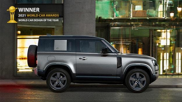 Land Rover Defender с най-престижно отличие