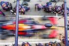 Red Bull износва по-бързо гумите