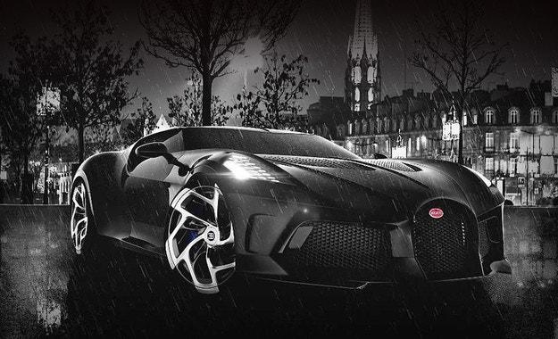 Bugatti La Voiture Noire с втори дебют