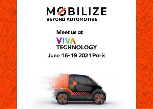 Mobilize на Viva Technology представя своята визия