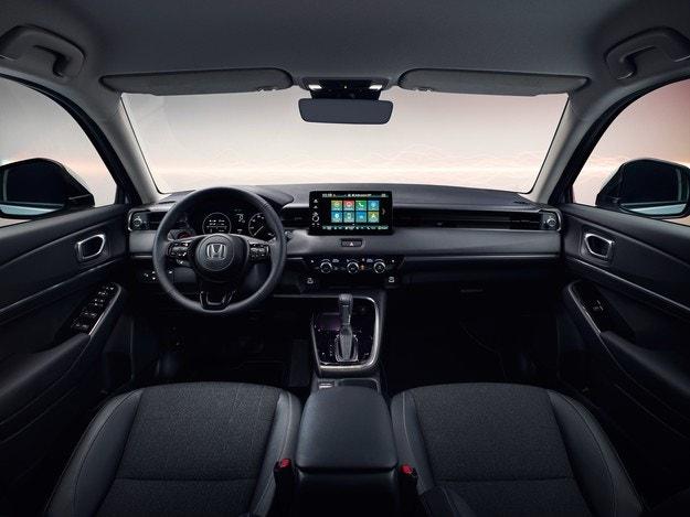 Интериорът на Honda HR-V впечатлява с комфорт