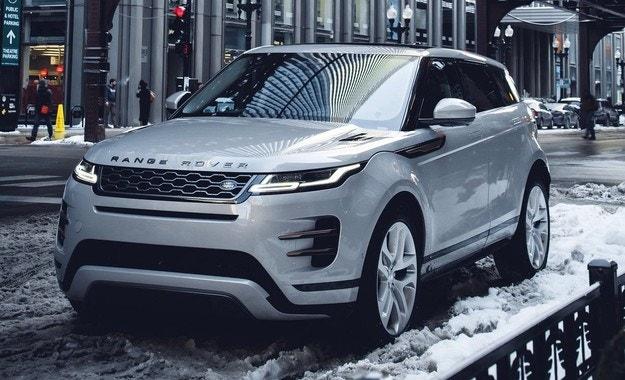 Range Rover Evoque L оцениха в юани