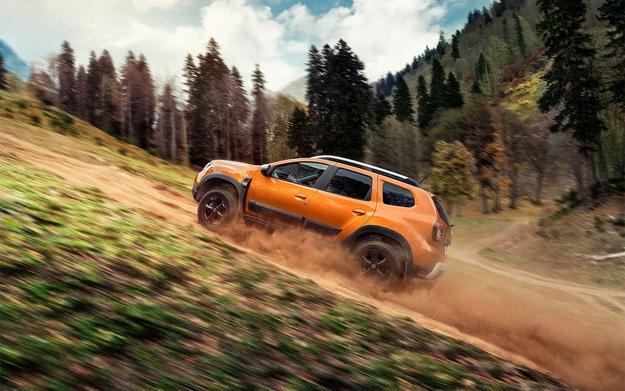 Обновиха кросоувъра Dacia Duster