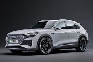 Audi E-tron ще бъде основно обновен през 2022