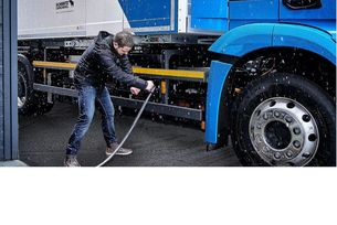 Traton, Daimler и Volvo с мрежа от зарядни станции за камиони