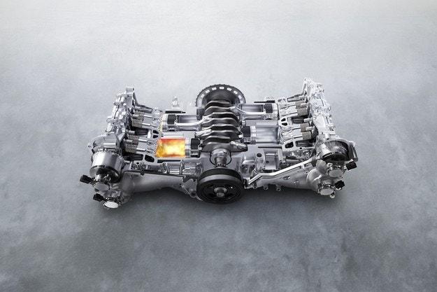 55 години двигатели SUBARU BOXER