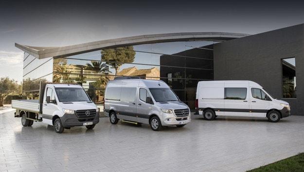 Mercedes-Benz Sprinter адаптира дизеловия 2,0
