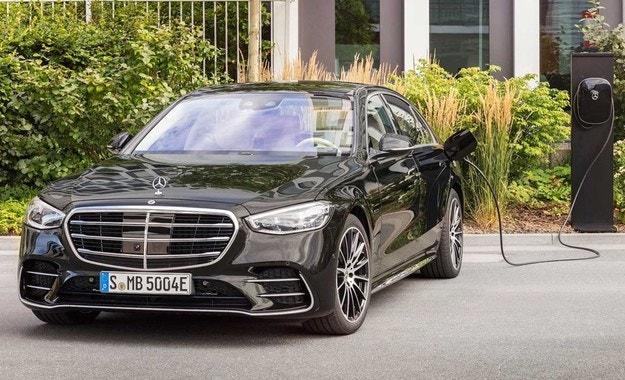 Новият Mercedes-Benz S-класа  хибрид