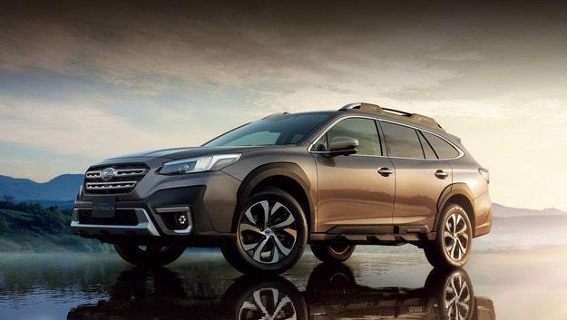 Subaru Legacy Outback се отличава с двигателя