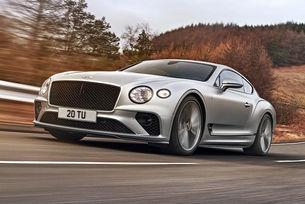 Bentley Continental GT PHEV е на преден план
