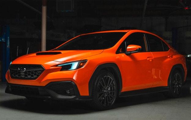 Разсекретиха дизайна на новия Subaru WRX