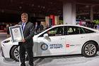 Toyota Mirai постави световен рекорд за водород