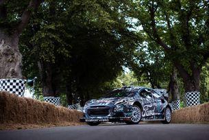 Льоб тества новата Puma WRC