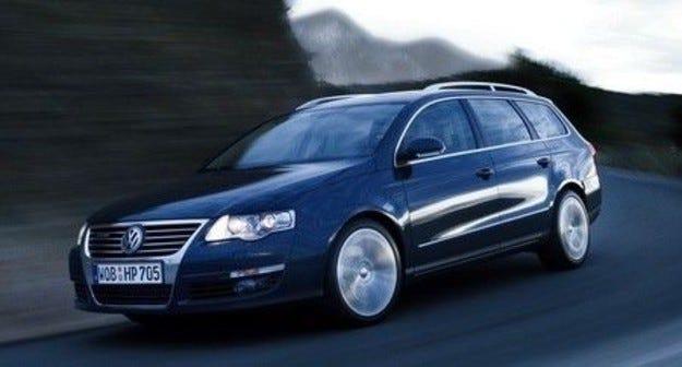 VW Passat BlueTDI: Чистофайникът
