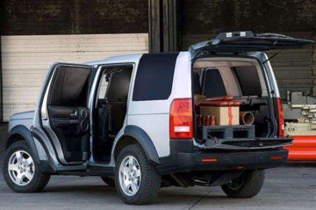 Land Rover Discovery: Работна модификация